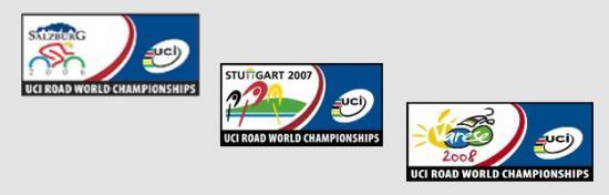 Logos des championnats du monde (charte graphique imposée)