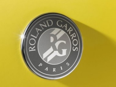 Roland Garros sur les 206 de Peugeot