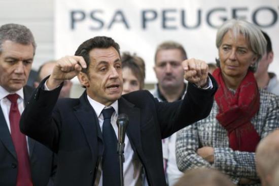 S'adapter, ou se protéger ? Sarkozy chez PSA-jpg