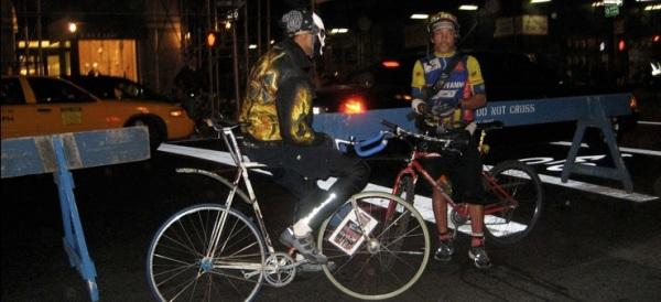 resting riders