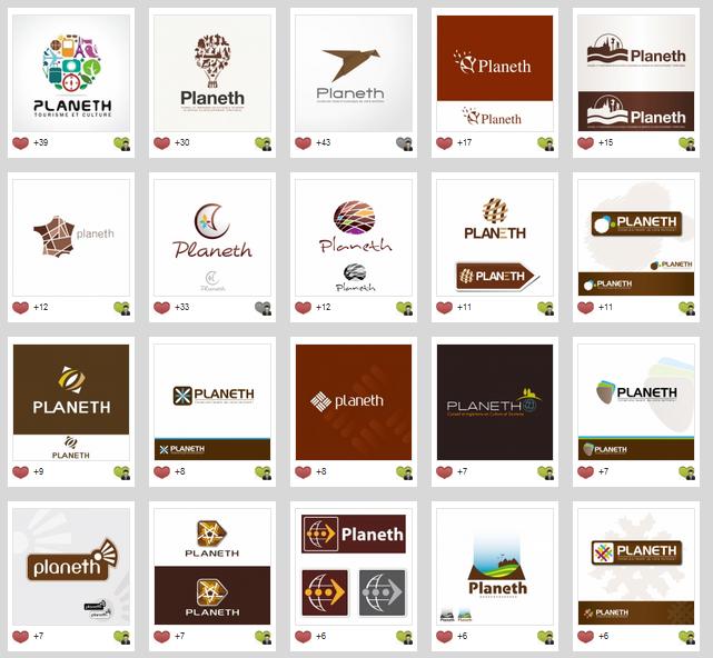 Exemples création de logos