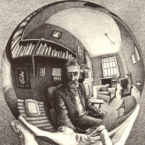 reflecting-sphere