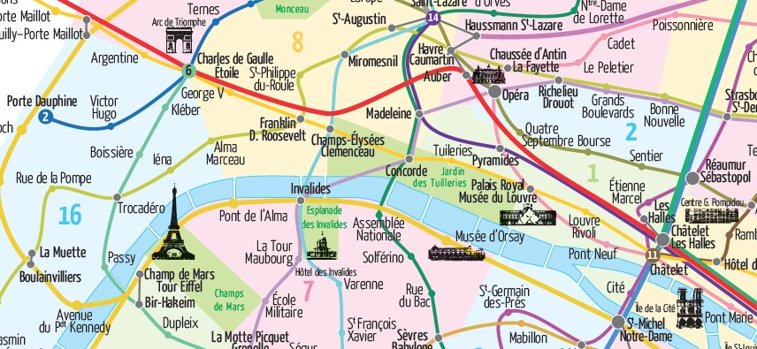 Crowdsourcing a new map design for Paris\' subways | Yannig ...