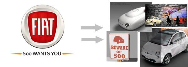 Fiat 500 Wants You