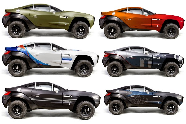 Rally Fighter in different colors