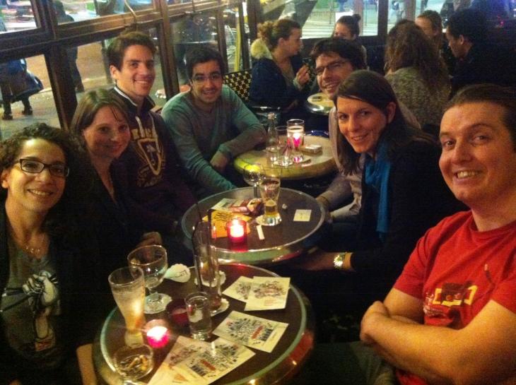 Meet-up organisé par 99design à Paris en novembre 2012