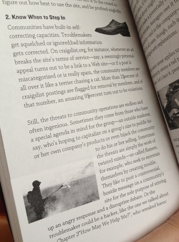 If you look closer, you'll see the numerous editing mistakes and typos that swarm in the end of the book...