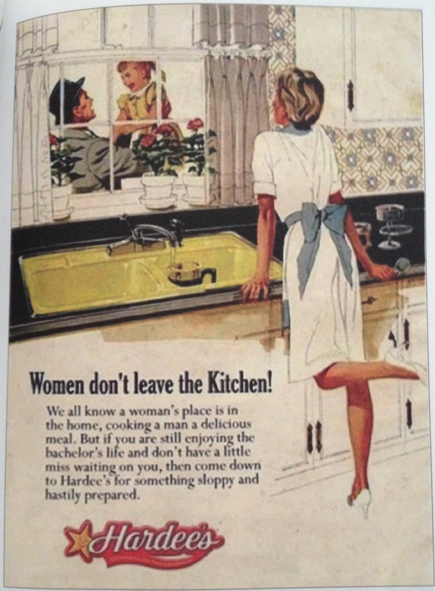 Women Donu0027t Leave The Kitchen
