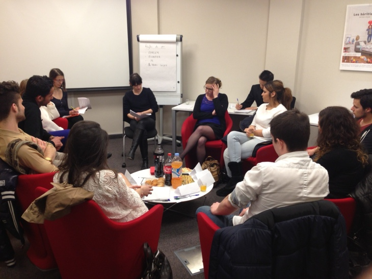 One of the Alpha Agency's latest co-creation meetings, targetted towards students