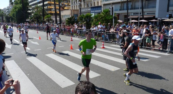 2 laps (out of 4) into the marathon