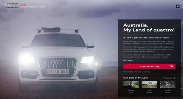 Australia Audi Land Of Quattro