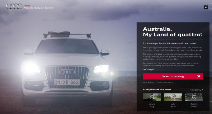 Australia Audi Land Of Quattro