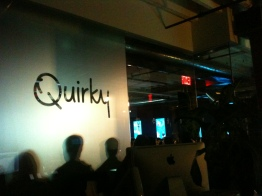 Click to see the photos my brother Maël and I took when we visited the Quirky HQ in New York, last year.