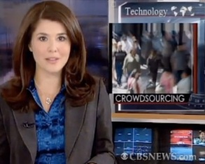 what is crowdsourcing CBS news