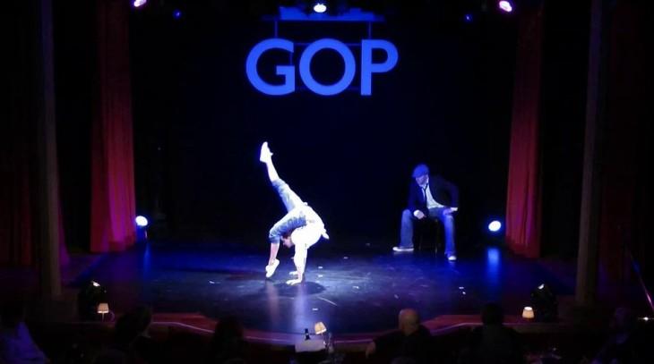 Bitte klicken, um Florian im GOP Variété tanzen zu sehen (vimeo.com)