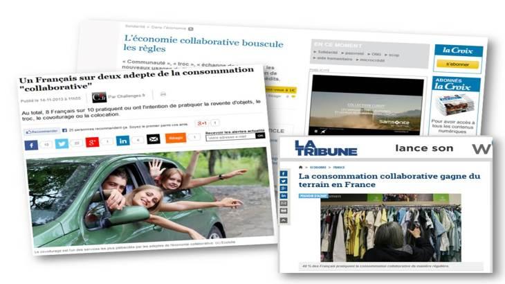 economie collaborative france 2013