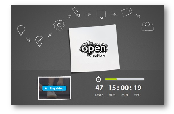 Today (February 12th) the Open Oxyale page is still in teaser mode. Click to access