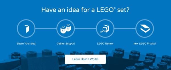 Click to access LEGO Ideas