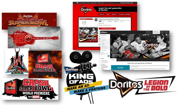 doritos crowdsourcing illustration