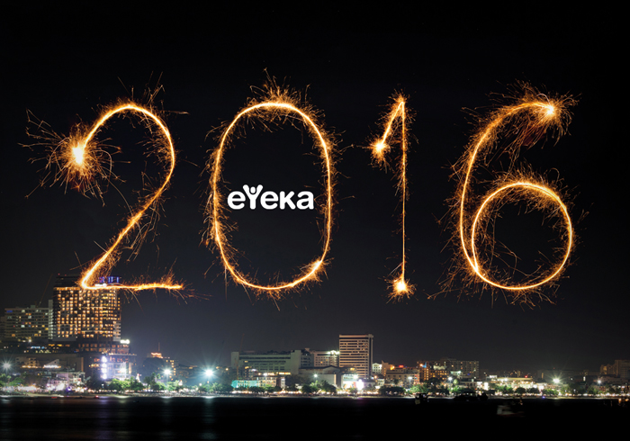 Click to see eYeka's 2015 review and 2016 greetings