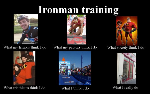 what my friends think I do - ironman
