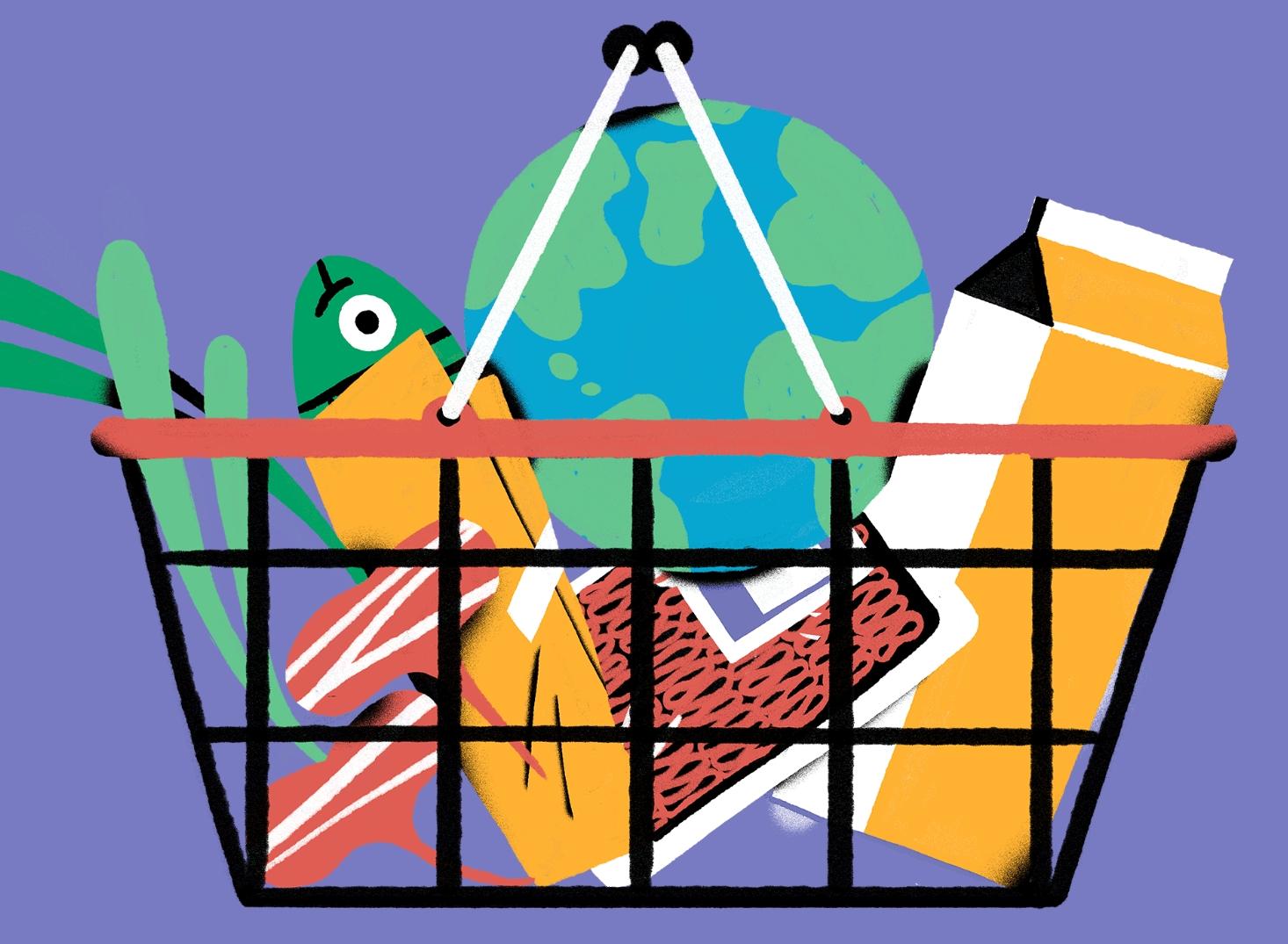 shopping illustration